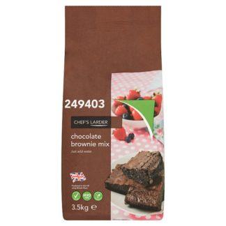 Chef's Larder Chocolate Brownie Mix 3.5kg (Case of 4)