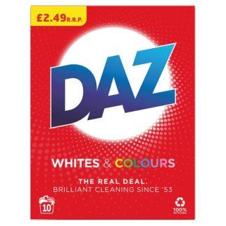 Daz Washing Powder Whites & Colours 650G, 10 Washes (Case of 6)