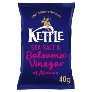 KETTLE® Sea Salt & Balsamic Vinegar of Modena 40g (Case of 18)