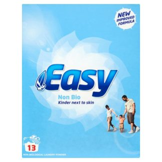 Easy 13 Non-Biological Laundry Powder 884g (Case of 6)