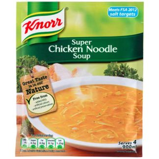 Knorr Chicken Noodle Dry Packet Soup 51g (Case of 12)