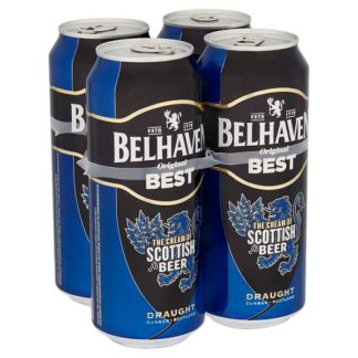 Belhaven Original Best Draught 4 x 440ml (Case of 24)