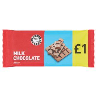 Euro Shopper Milk Chocolate 200g (Case of 16)