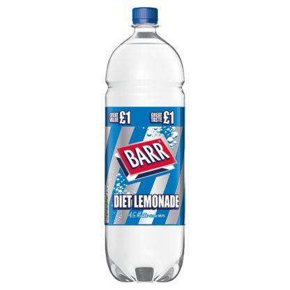 Barr Diet Lemonade 2L Bottle, PMP £1 (Case of 6)