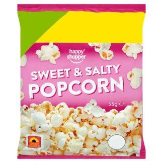 Happy Shopper Sweet & Salty Popcorn 55g (Case of 16)