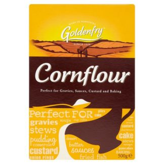 Goldenfry Cornflour 500g (Case of 4)