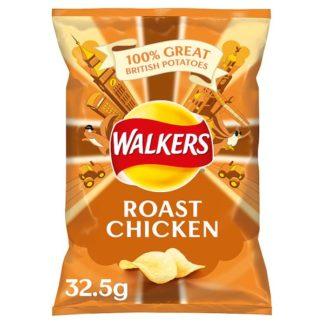 Walkers Roast Chicken Crisps 32.5g (Case of 32)