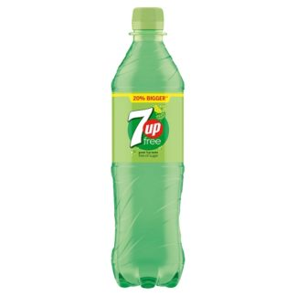 7UP Free 600ml (Case of 12)