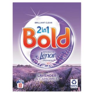 Bold 2in1 Washing Powder Lavender & Camomile 650Kg 10 Washes (Case of 6)