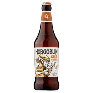 Wychwood Brewery Hobgoblin Gold Beer 500ml (Case of 8)