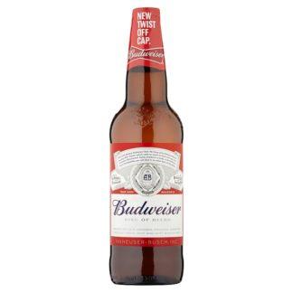 Budweiser Lager Beer Bottle 660ml (Case of 12)