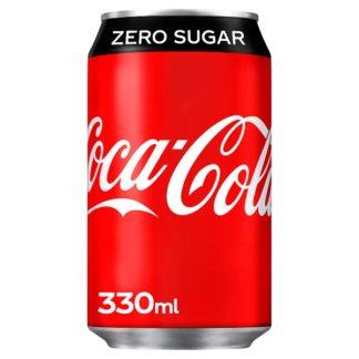 Coca-Cola Zero Sugar 330ml (Case of 24)