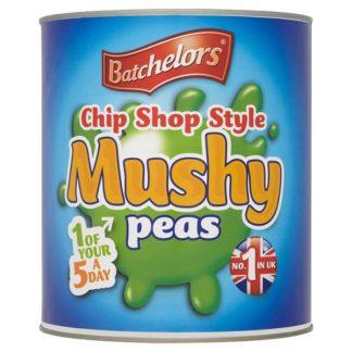 Batchelors Chip Shop Style Mushy Peas 3kg (Case of 6)