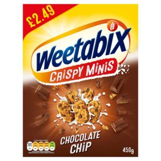 Weetabix Minis Chocolate Cereal Case 10 x 450g PMP £2.49 (Case of 5)