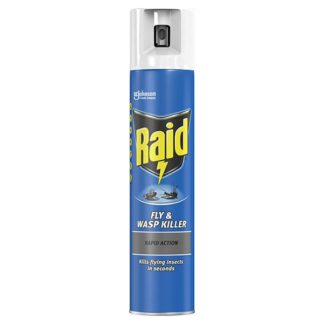 Raid Rapid Action Fly & Wasp Insect Killer 300ml (Case of 6)