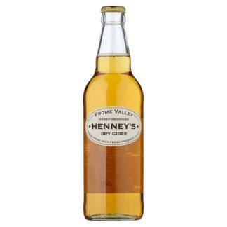 Henney's Dry Cider 500ml (Case of 8)