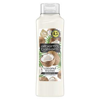 Alberto Balsam Coconut & Lychee Nourishing Shampoo 350 ml (Case of 6)
