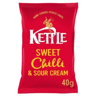 KETTLE® Sweet Chilli & Sour Cream 40g (Case of 18)