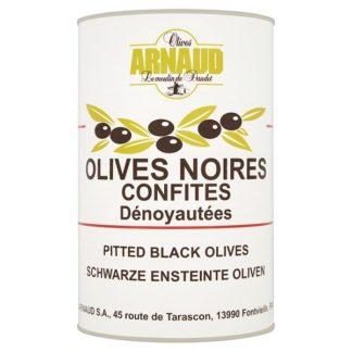 Olives Arnaud Pitted Black Olives 4.2kg (Case of 3)