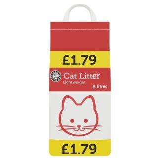 Euro Shopper Cat Litter Lightweight 8 Litres