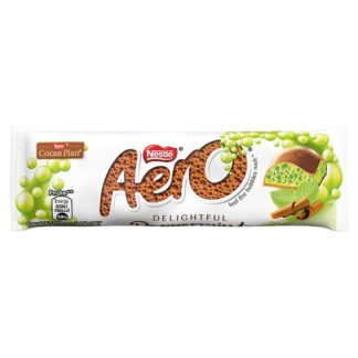 Aero Bubbly Peppermint Mint Chocolate Bar 36g (Case of 24)
