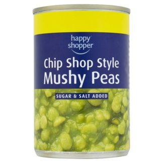 Happy Shopper Chip Shop Style Mushy Peas 300g (Case of 12)