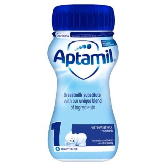 Aptamil 1 First Infant Milk from Birth 200ml (Case of 12)