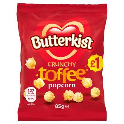 Butterkist Crunchy Toffee Popcorn 85g £1 PMP (Case of 12)