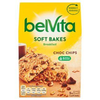 Belvita Breakfast Biscuits Soft Bakes Choc Chips 250g (Case of 6)