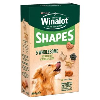 WINALOT Shapes Dog Treat Biscuits 800g (Case of 5)