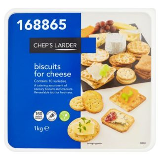 Chef's Larder Biscuits for Cheese 1kg (Case of 6)