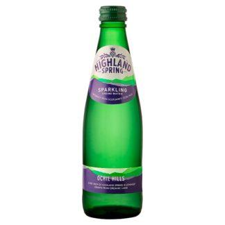 Highland Spring Sparkling Spring Water 330ml (Case of 24)