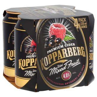 Kopparberg Mixed Fruit 4 x 330ml (Case of 6)