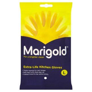 Marigold Extra-Life Kitchen Gloves Large (Case of 72)