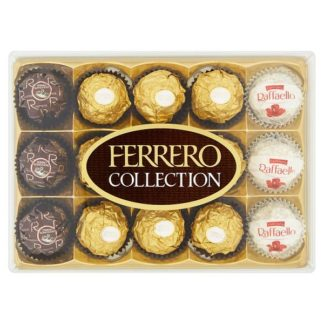 Ferrero Collection Gift Box of Chocolates 15 Pieces (172g) (Case of 6)