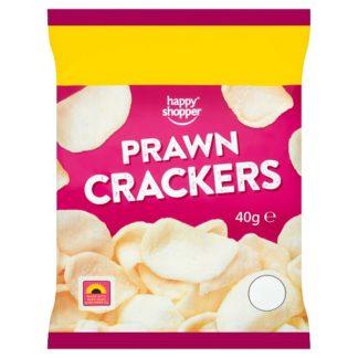 Happy Shopper Prawn Crackers 40g (Case of 16)
