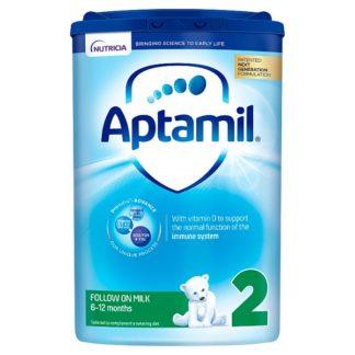 Aptamil 2 Follow On Baby Milk Formula 6-12 Months 800g (Case of 6)