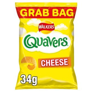 Walkers Quavers Cheese Snacks 34g (Case of 30)