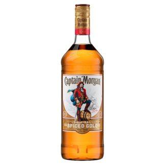 Captain Morgan Original Spiced Gold Rum Based Spirit Drink 1L