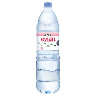 evian Still Natural Mineral Water 1.5L (Case of 8)