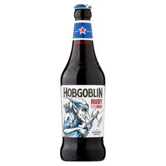 Wychwood Brewery Hobgoblin Ruby Beer 500ml (Case of 8)