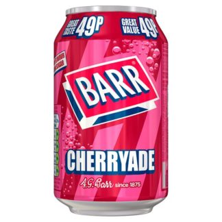 Barr Cherryade 330ml Can, PMP 49p (Case of 24)