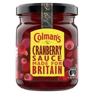 Colman's Cranberry Sauce 165g (Case of 8)