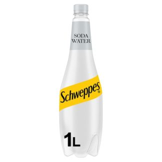 Schweppes Original Soda Water 1L (Case of 6)