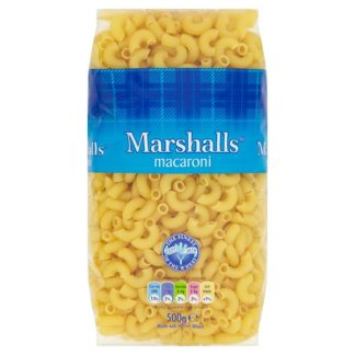 Marshalls Macaroni 500g (Case of 10)