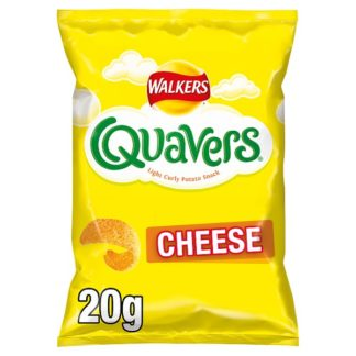 Walkers Quavers Cheese Snacks 20g (Case of 32)