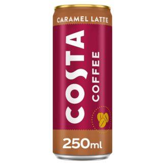 Costa Coffee Caramel Latte 250ml (Case of 12)