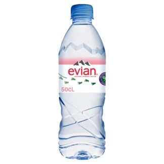 evian Still Natural Mineral Water 50cl (Case of 24)