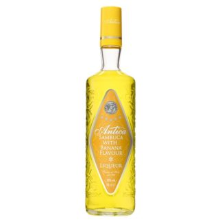 Antica Sambuca with Banana Flavour Liqueur 70cl