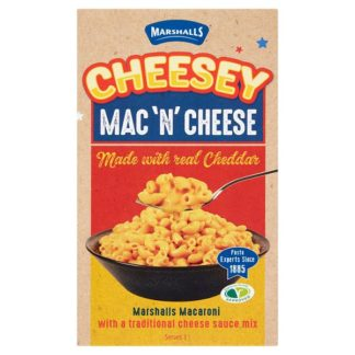 Marshalls Cheesey Mac 'N' Cheese 190g (Case of 12)